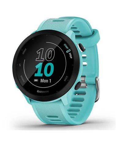 Garmin Forerunner 55 GPS Smartwatch Wrist-Based HR, Aqua