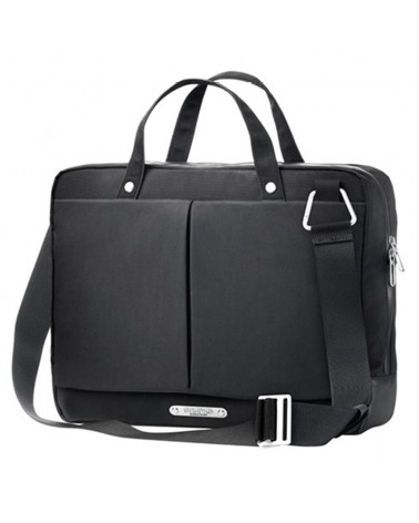 Brooks New Street Briefcase Borsa Ciclismo Portacomputer 15 L Impermeabile, Black