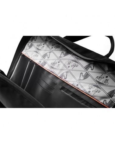 Brooks New Street Briefcase Borsa Ciclismo Portacomputer 15 L Impermeabile, Black