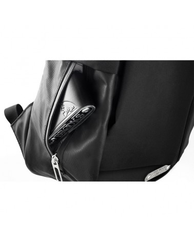Brooks Discovery Sparkhill M Zip Top Zaino Ciclismo 22 L Impermeabile, Black