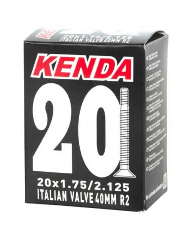 Kenda Camera d'Aria 20X1.75-2.125 Valvola Italia Scatolata