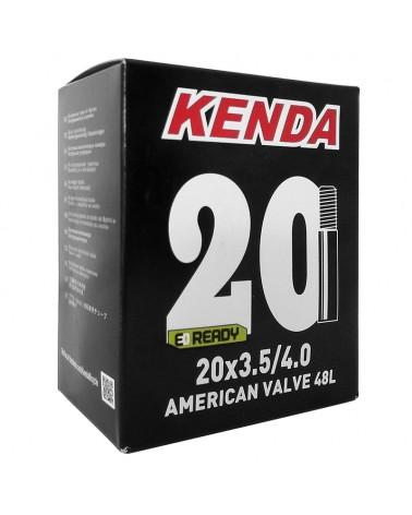 Kenda Fat Bike Inner Tube 20X3.50/4.0 America Valve 48mm