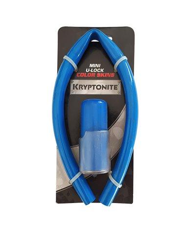 Kryptonite Mini U-Lock Color Skin Kit, Blue