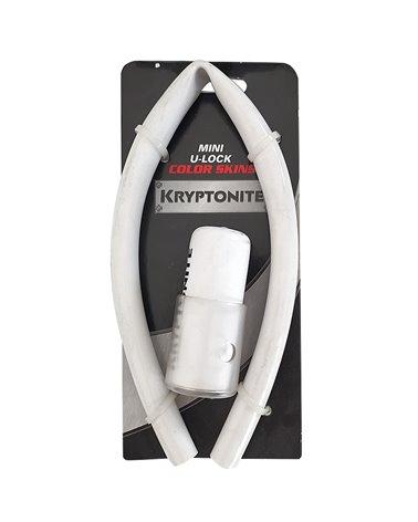 Kryptonite Mini U-Lock Color Skin Kit, White