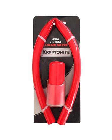 Kryptonite Mini U-Lock Color Skin Kit, Red
