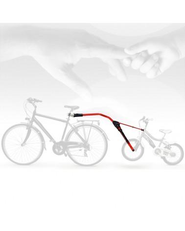 Peruzzo Trail Angel Towing Kids Bike, Red Traino Bici Bimbo, Rosso