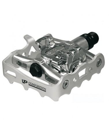 VP Components VP-X82 Coppia Pedali Dual Function SPD in Alluminio Forgiato