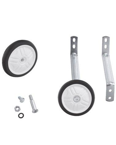 """Rms ruedas estabilizadores ajustables para bicicletas de 14"""" a 16"""" (accesorio de 2 orificio)"""