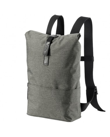 Brooks Pickwick Tex-Nylon Small Cycling Roll-top Backpack 12 Liters, Grey