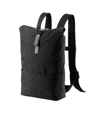 Brooks Pickwick Tex-Nylon Small Cycling Roll-top Backpack 12 Liters, Black