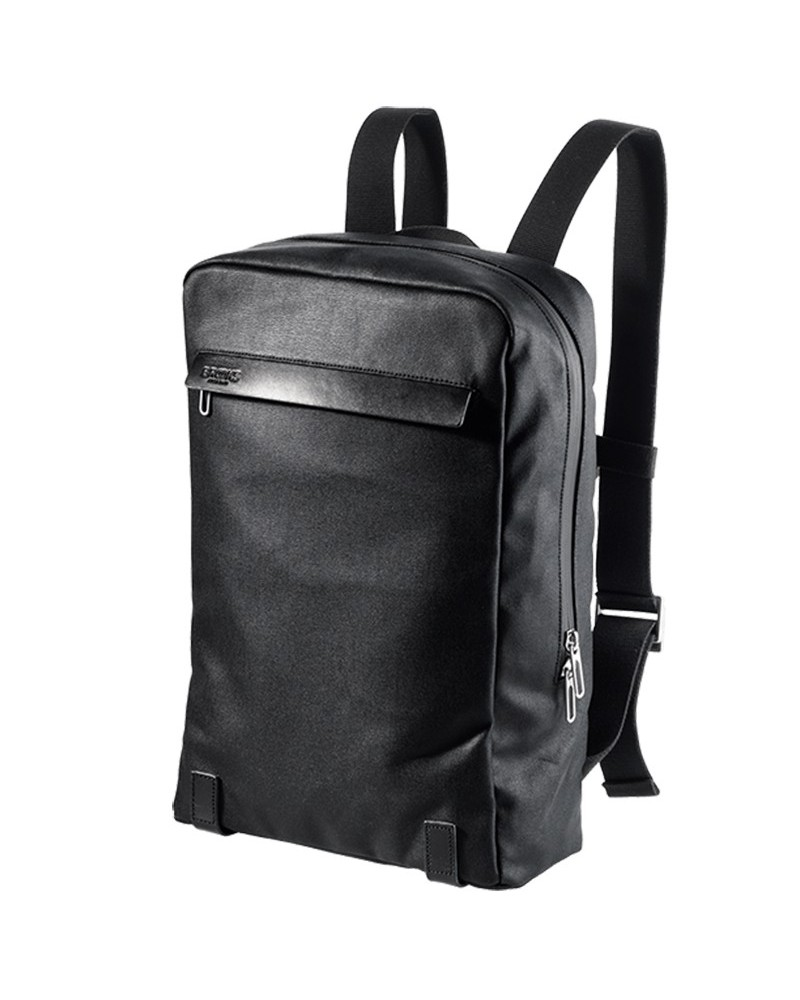 """Brooks Pickzip Cotton Canvas Cycling Laptop 13""""  Backpack 10 Liters, Black"""