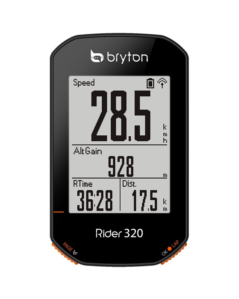 Bryton Rider 320E GPS Cycling Computer