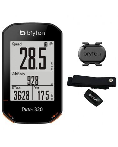 Bryton Rider 320T GPS Cycling Computer (Sensor Bundle Kit)