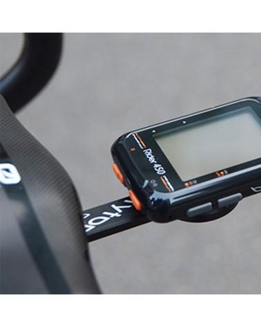 Bryton Race Mount Supporto Frontale in Alluminio per Ciclocomputer Rider (Pieghe Integrate)