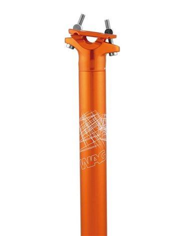 Wag Seat Post 31.6 X 350mm Wag Orange Color