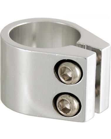 RMS BMX Seat Clamp 31, 8mm Silver Color.