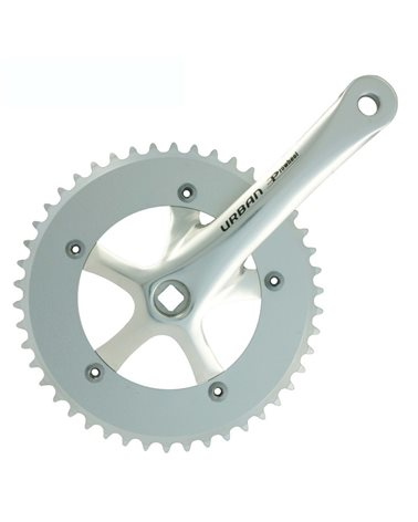 Prowheel Crankset Urban 46X165 Silver