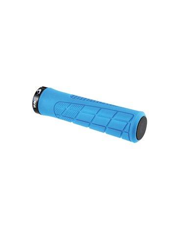 Wag Coppia Manopole MTB Pro con Lock Ring, 135mm, Azzurro
