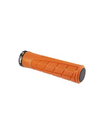 Wag Coppia Manopole MTB Pro con Lock Ring, 135mm, Arancio