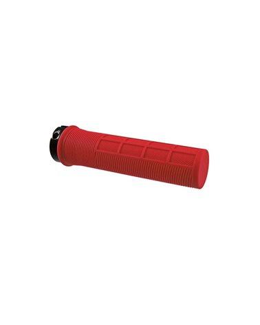 Wag Coppia Manopole Shape-R con Lock Ring, 130mm, Rosso