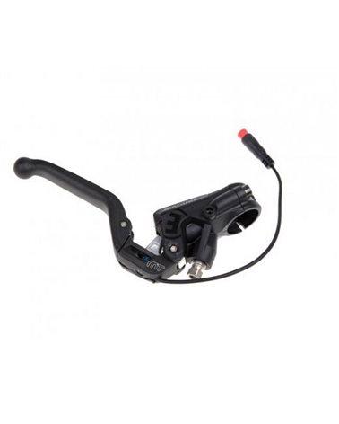 Topeak Mini Pompa HybridRocket MT con Cartuccia CO2 Filettata da 16gr, Black