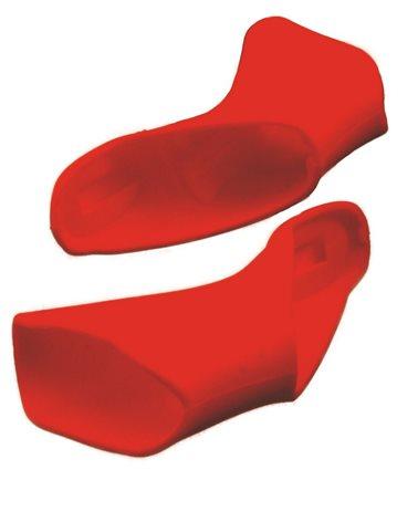 Ebon Silicon Lever Cover For Shimano Ultegra Di2 6770 10 Speed Red.