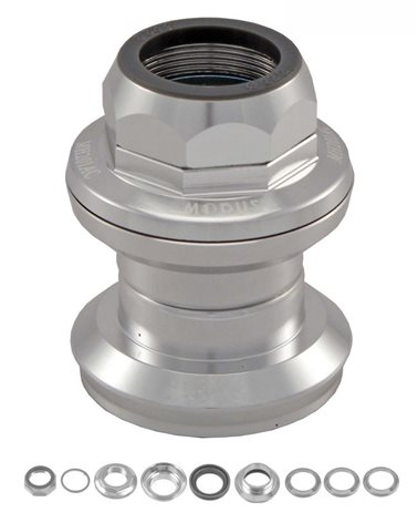 VP Components Threaded Headset 1' Aluminum, Cartridge, Silver