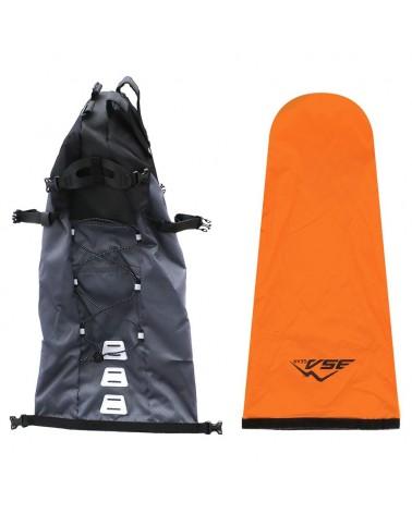 BSA Gear Bikepacking Borsa Sottosella Impermeabile Gravel Bag WP 18 L