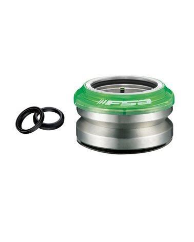 FSA Serie Sterzo Semintegrata Impact Pc Campy/Gyro 15mm 1-1/8 Verde Trasparente , 8, 3+0, 5mm