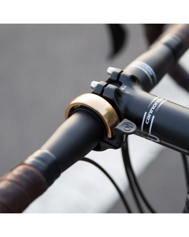 Knog. Oi Classic Large Campanello Bici Ø 23,8 - 31,8 mm, Ottone