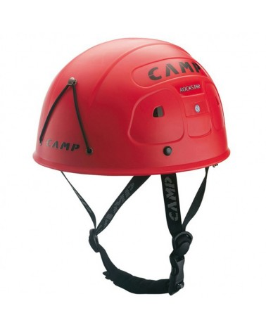 Camp Rockstar Helmet Size 53-62 cm, Red (One Size Fits All)