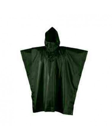 Camp Poncho Rain Stop Size S/M, Military Green