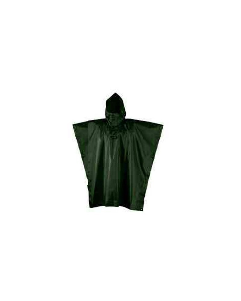 Camp Poncho Rain Stop Size S/M, Military Green