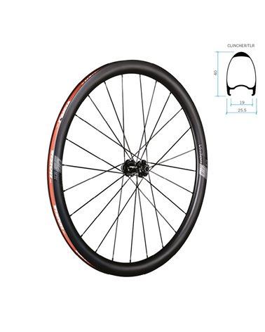Vision Coppia Ruote Sc 40 Disc Brake Centerlock Tubeless Ready, Corpetto Sh11Cerchio Full Carbon