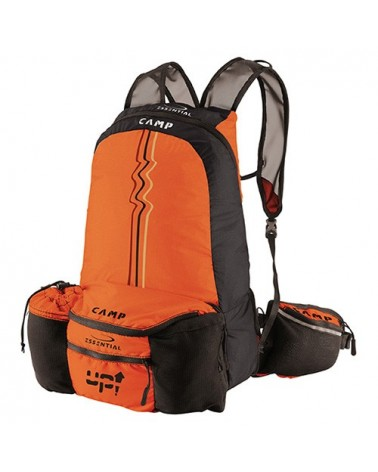 Camp UP Marsupio/Zaino 3/12 L, Orange/Black
