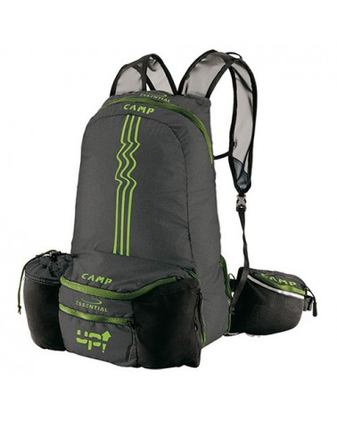 Camp UP Marsupio/Zaino 3/12 L, Black/Green