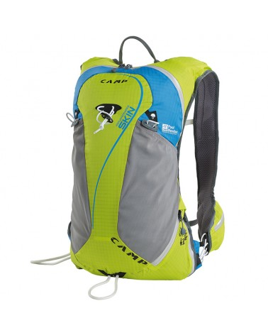 Camp Skin Ski Comp Ski Mountaineering Backpack Size S 15 l, Green/Light Blue