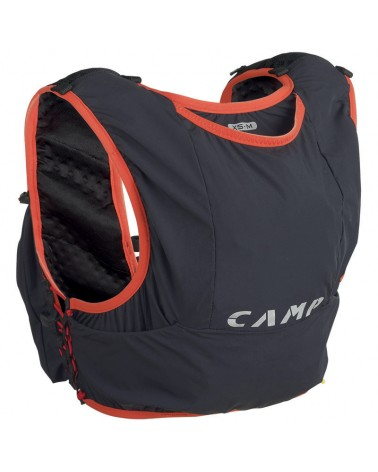 Camp Trail Force 5 Trail Running Pack 5 L Size XS/M, Anthracite Grey/Red