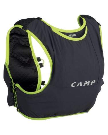 Camp Trail Force 5 Zaino Trail Running 5 L Taglia M/L, Grigio Antracite/Lime
