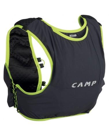 Camp Trail Force 5 Zaino Trail Running 5 L Taglia M/L, Grigio Antracite/Lime