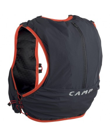 Camp Trail Force 10 Trail Running Pack 10 L Size XS/M, Anthracite Grey/Red
