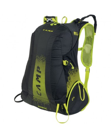 Camp Rapid Ski Mountaineering Backpack 20 L, Black/Green