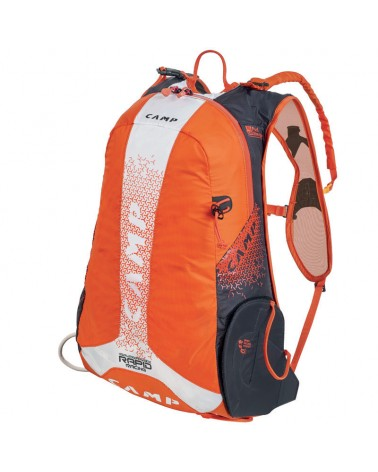 Camp Rapid Racing Ski Mountaineering Backpack 20 L, Orange/White