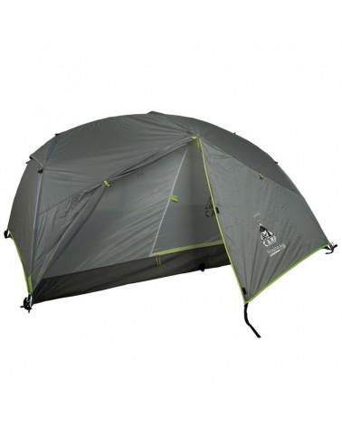 Camp Minima 3 Pro Tenda Tre Posti, Grigio/Lime
