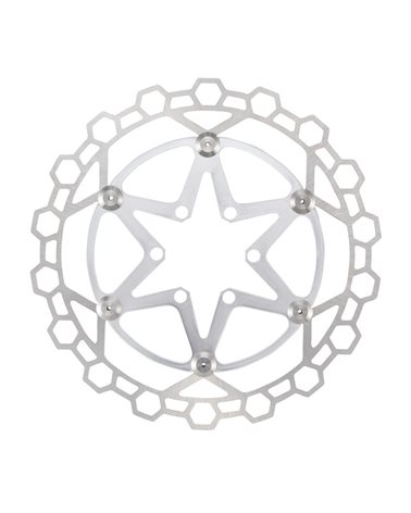 Alligator Floating Rotor Diamond 2P 160mm Silver Color