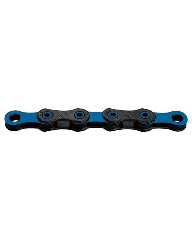 KMC Chain 12S Dlc, Diamond Like Coating, Black/Blue