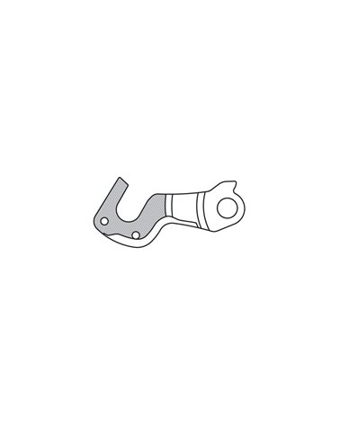 Petzl Elastico di Ricambio per Tikka+/ Tikka Xp, Grigio