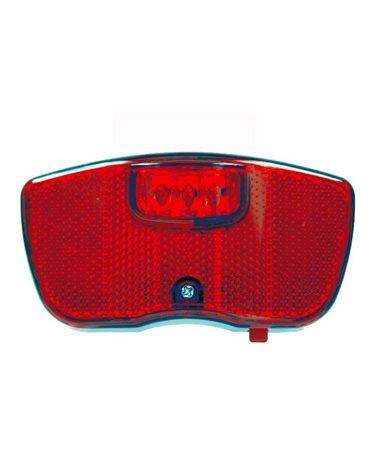 BTA Rear Light With Battery, For City-Trekking Bike. With 3 Red Leds..