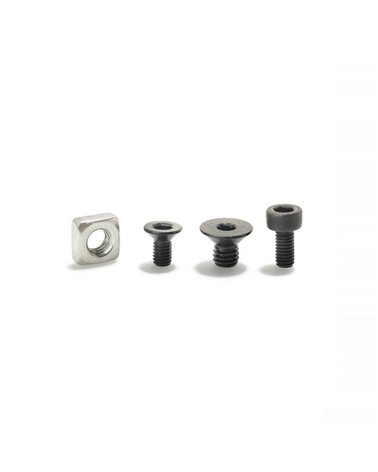 Bosch Kit Viti Montaggio Kiox, 1 Dado Quadro, 1 Vite per Scatola di Cablaggio, 1 Vite per Piastra di Montaggio, 1 Vite per Antif