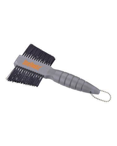 Icetoolz Two-Weat Brush, With Soft Bristles On One Side And Stiff Bristles On The Other Side